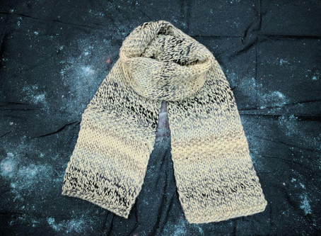 KNIT WINTER SCARF – ANOTHER WOOLLY SCARF PATTERN