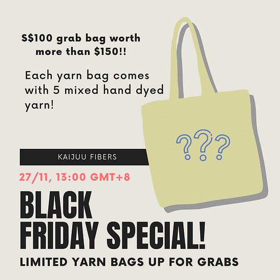 Yarn Grab Bags