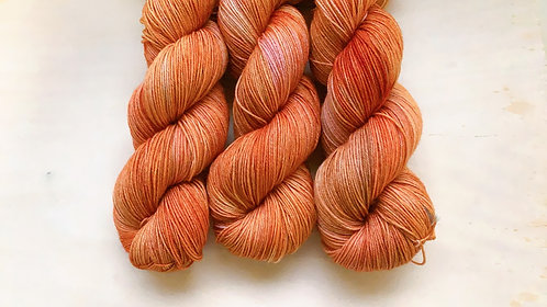 100% sw merino - burnt orange (ooak)