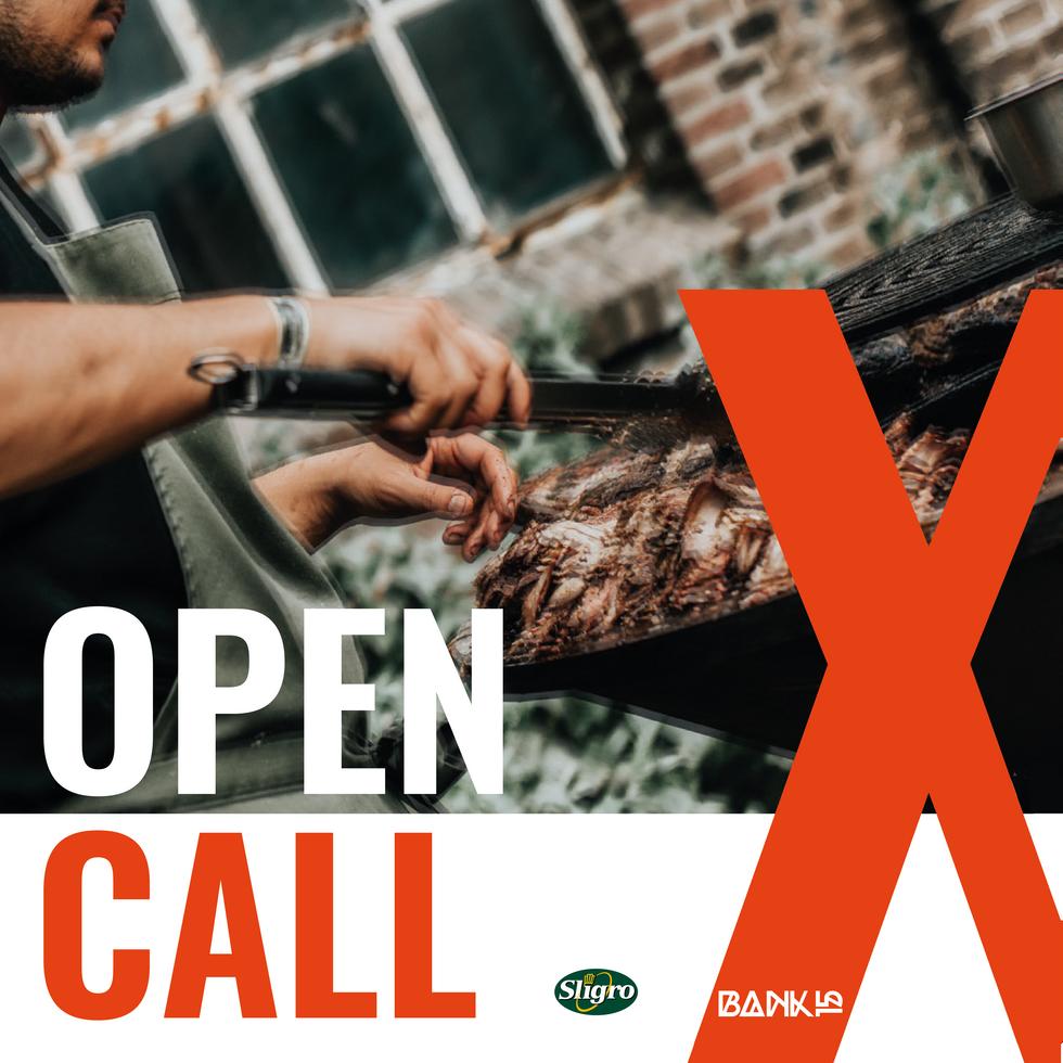 OPEN CALL | POP-UP KEUKEN
