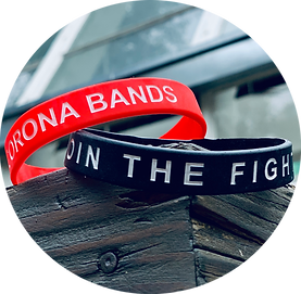 Donate $8 and receive a Corona Band