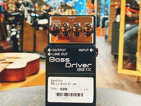 Beg. Boss BB-1x Bass Driver effektpedal 999:-