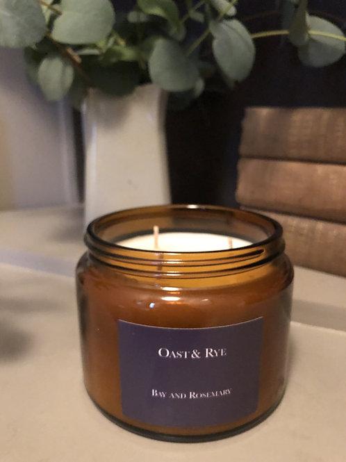 Bay & Rosemary Candle