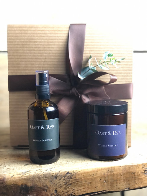 Candle & Room Spray Gift Box