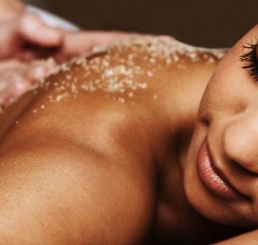 Body Massage and Day Spa Salt Body Scrub