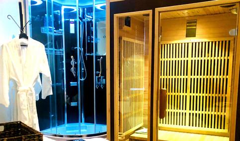 body bliss shower sauna