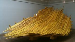 """Sculpture: Flodseng - Riverbed on exhibition """"EKKO"""""""