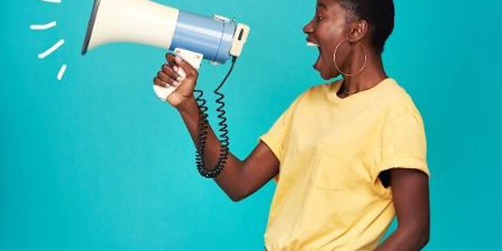 Oficina: Da Voz falada à voz cantada: explorando práticas, cuidados e estratégias no trabalho vocal