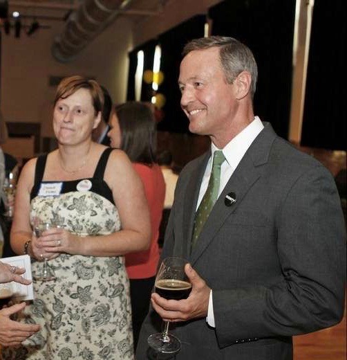 With former MD governor Martin O'Malley