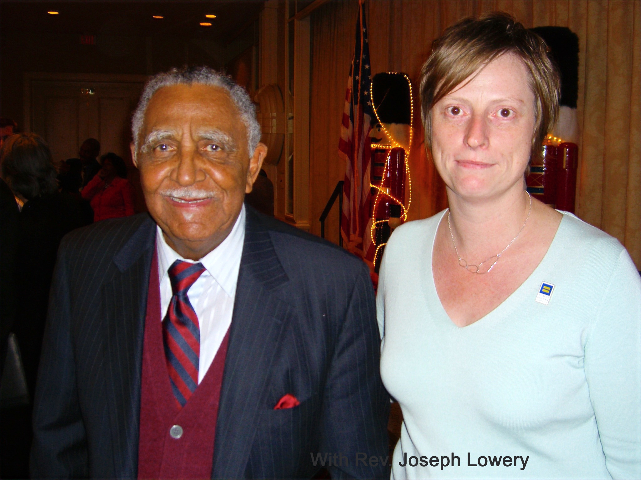 Rev Joseph Lowery