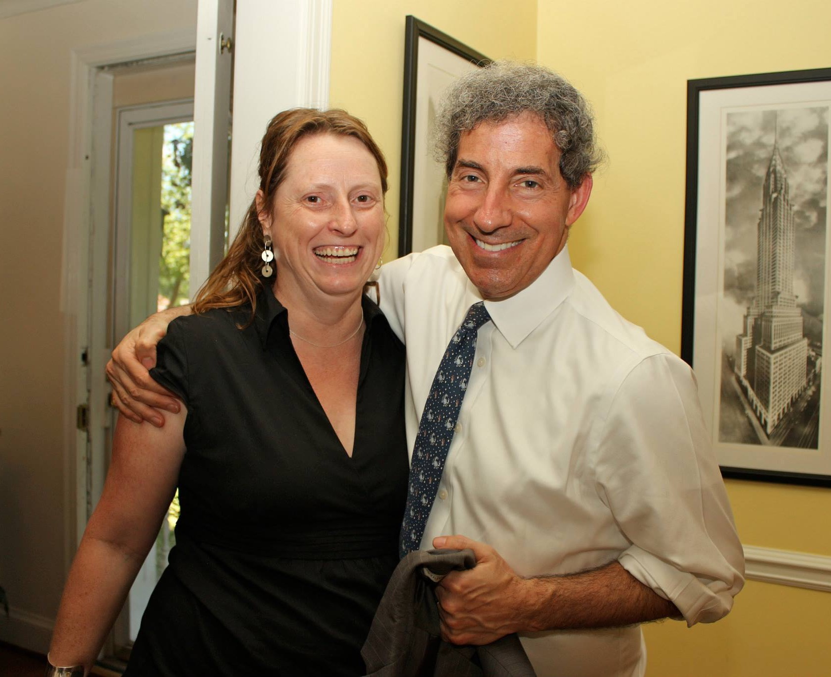 With U.S. Rep Jamie Raskin (MD-8)