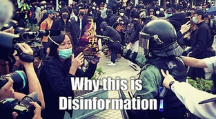 Truth Behind this disinformation photo at 22 Dec Central.