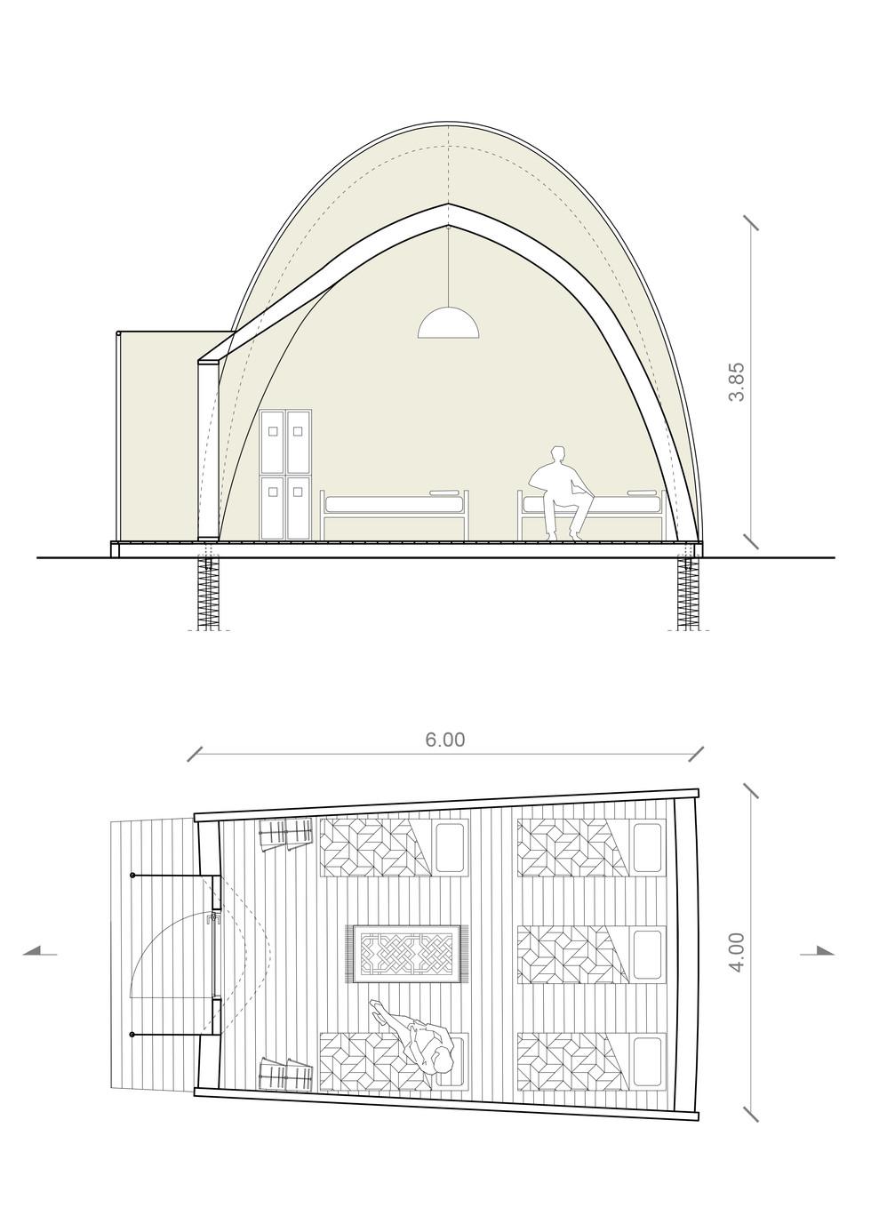 Modulo - planta e corte.jpg