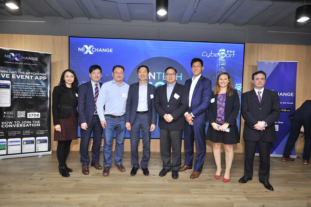 The Fintech O2O: Insurtech panel, joined by NexChange CEO Juwan Lee