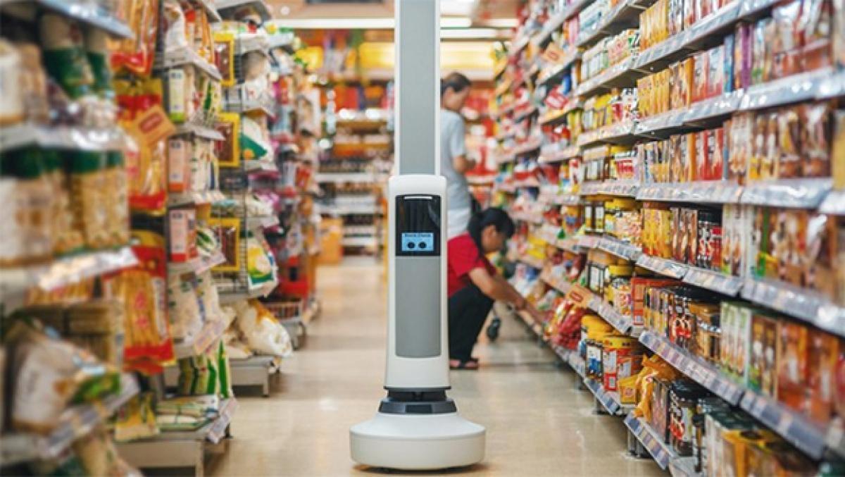 Robot Tally - Simbe Tally autonomous inventory robots - Simbe Robotics