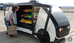 Robomart: the world's first self-driving grocery store.