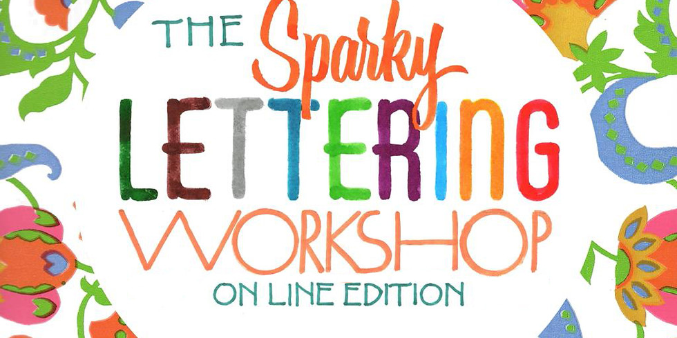 Sparky Lettering by Barbara Calzolari