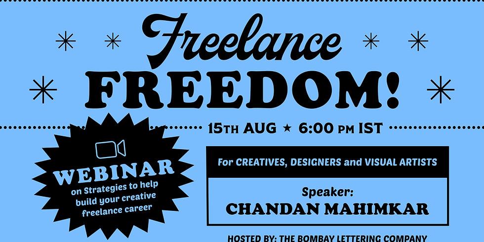 Freelance Freedom - A Webinar for Creative Freelancers