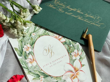 All things Wedding Calligraphy