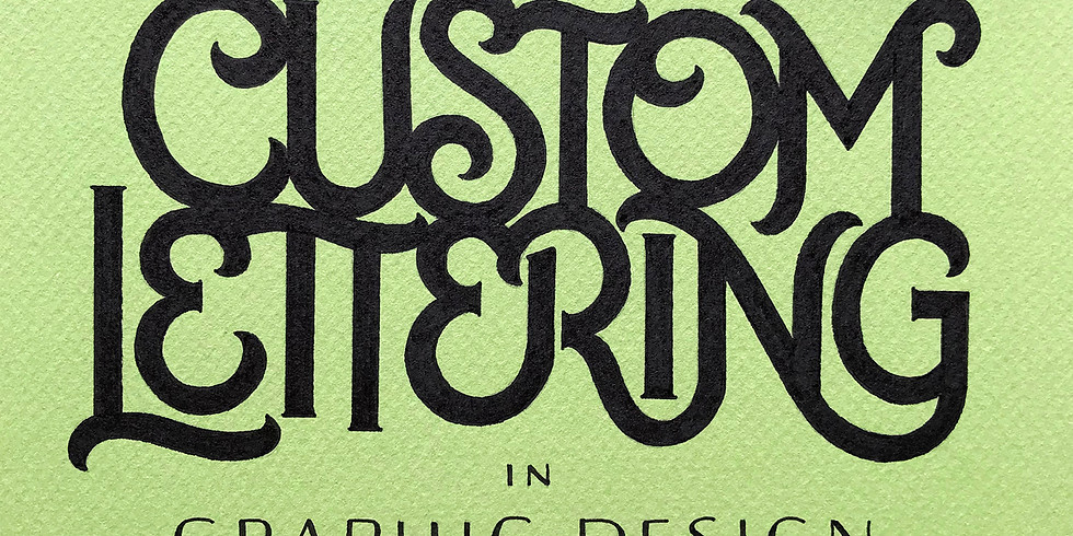 Custom Lettering in Graphic Design by Chandan Mahimkar