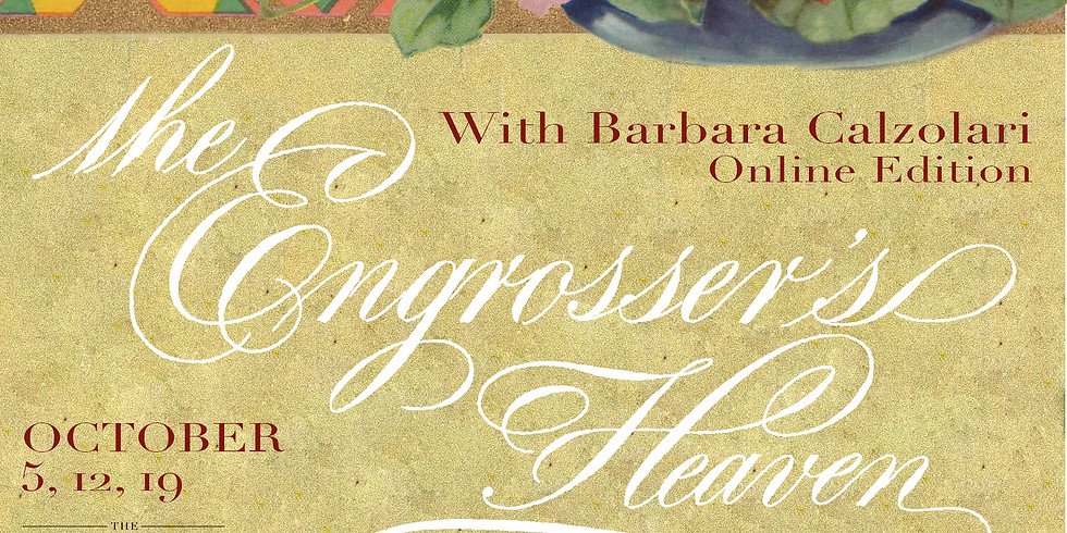 The Engrossers Heaven with Masterpenwoman Barbara Calzolari