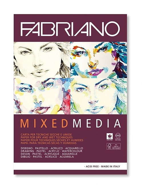 Fabriano Mixed Media Papers
