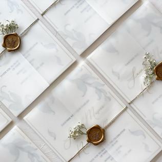 Wedding Invites - The Bombay Lettering Company