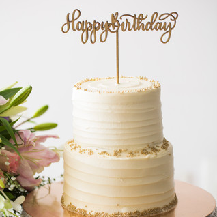 Cake Topper - The Bombay Lettering Company