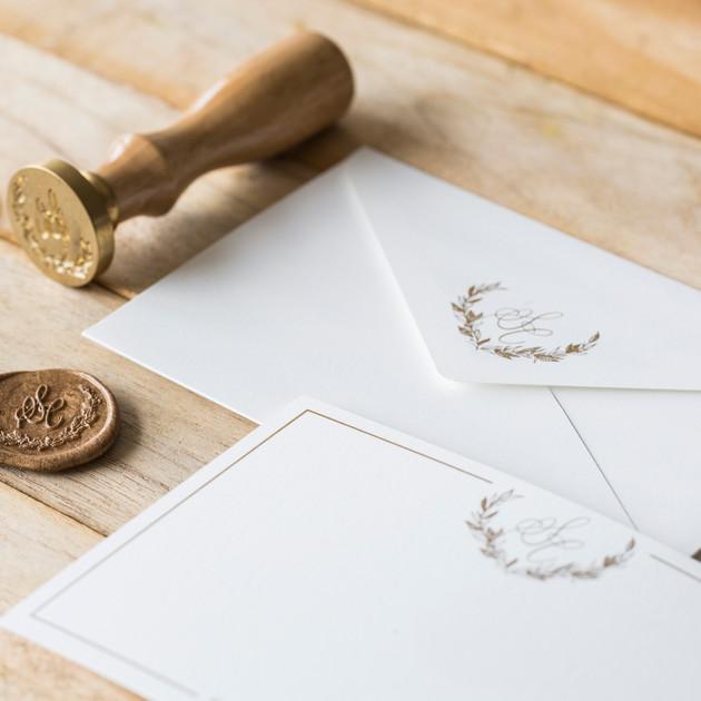Custom Stationery - The Bombay Lettering Company
