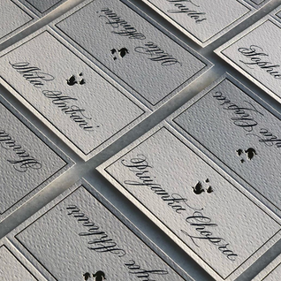 Placecards - The Bombay Lettering Company