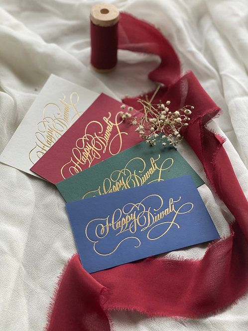 Happy Diwali Gift Tags - Pack of 5