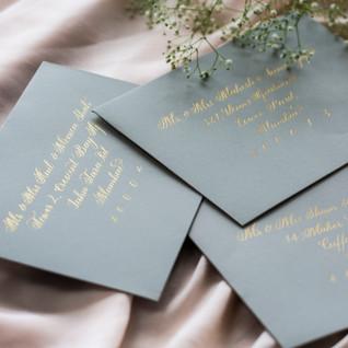 Envelope Addressing - The Bombay Lettering Company