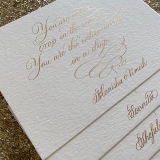 Custom Quote - The Bombay Lettering Company