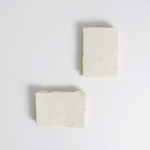 Ivory & Straw Handmade Deckle Edged 4 Bar Paper - Pack of 5