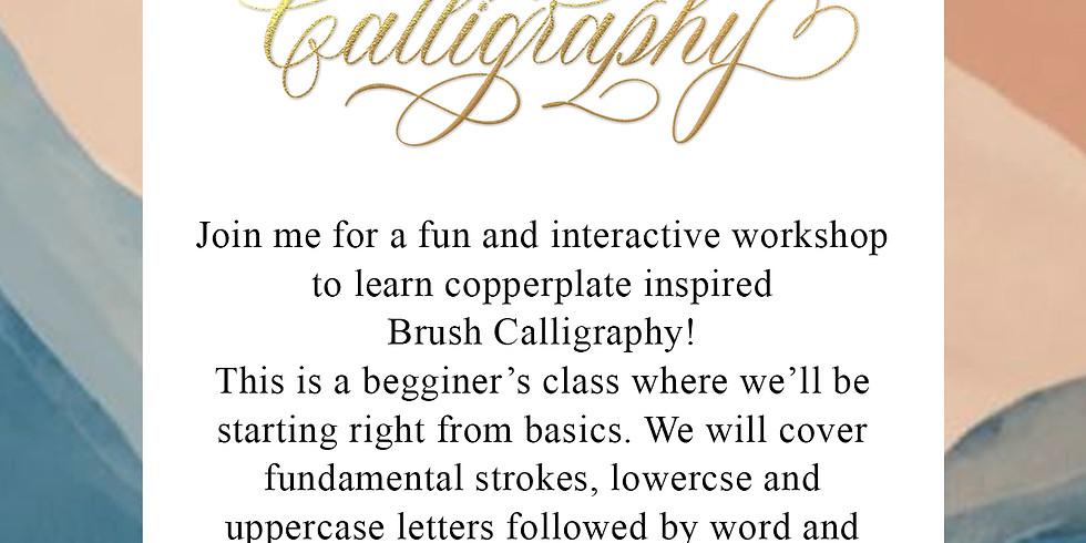 Brush Calligraphy - August