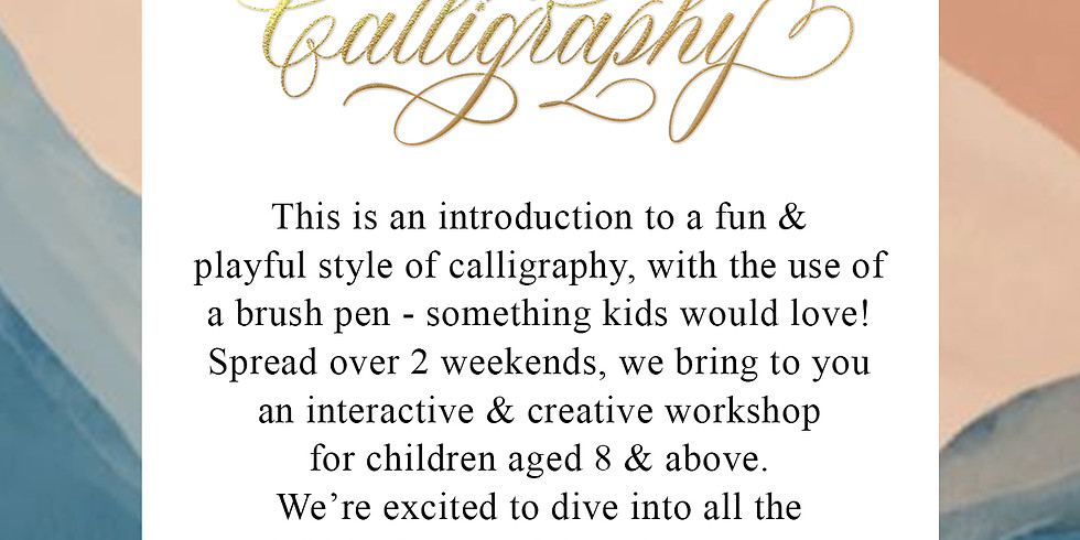 Brush Calligraphy for Adults - October