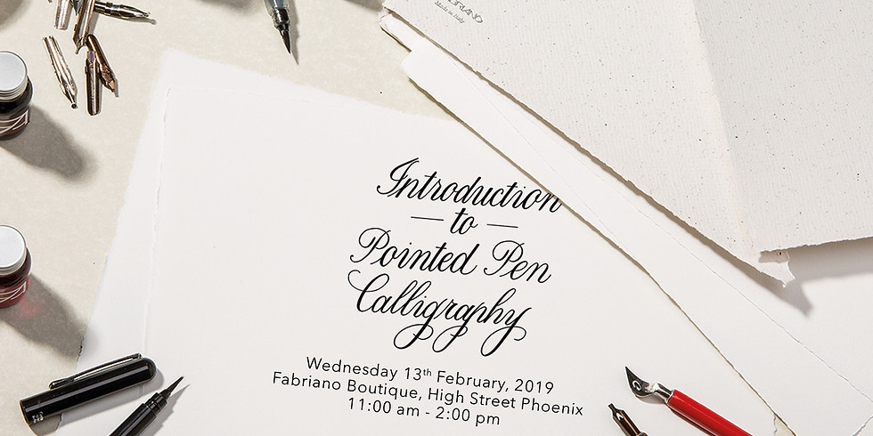 Introduction to Pointed Pen Calligraphy  -  Mumbai (1)