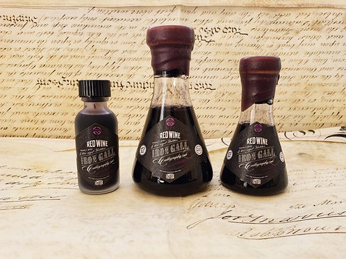Fox & Quills Ink - Red Wine Iron Gall