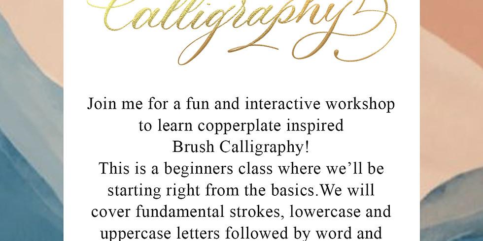 Brush Calligraphy - June