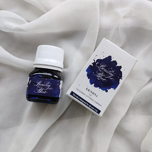 Bombay Blue Ink