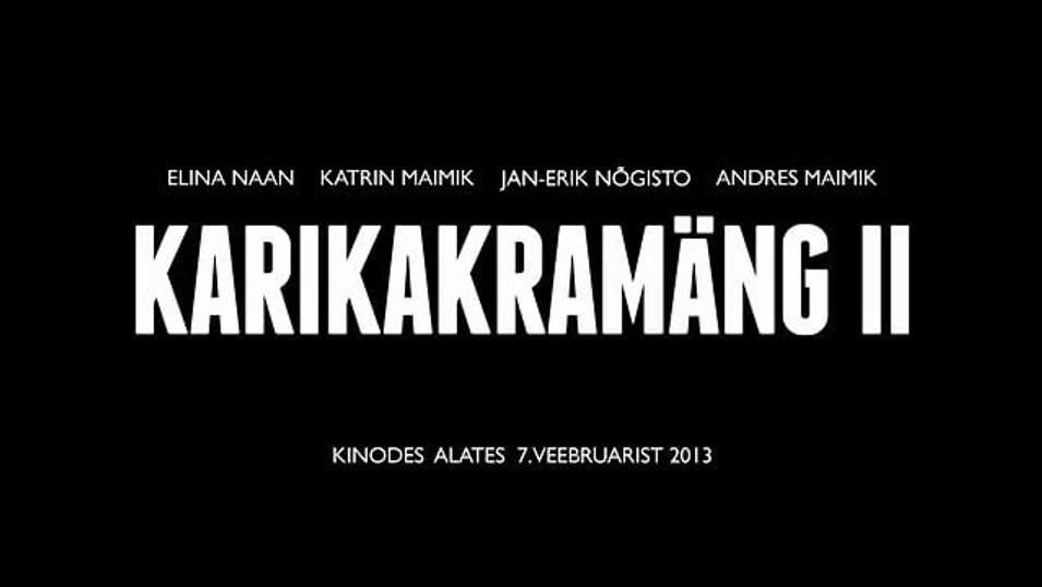 KARIKAKRAMÄNG II, 2013, lühifilmide kassett