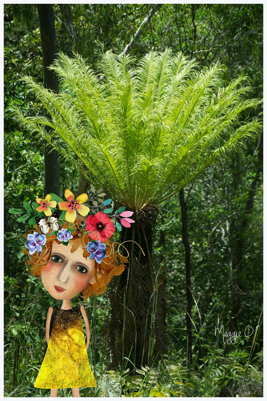 Exotic palms from the Paluma Range National Park.