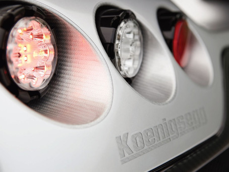 A Look at Koenigsegg's Trevita: Shine Bright Like a Diamond