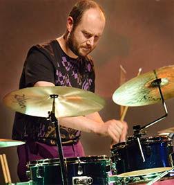 Davy De Wolf, drums, percussie, accordeon