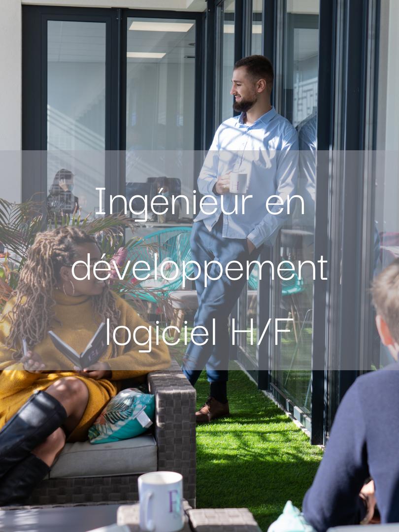 Ingénieur en développement logiciel H/F