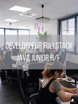Développeur FullStack Java Junior H/F