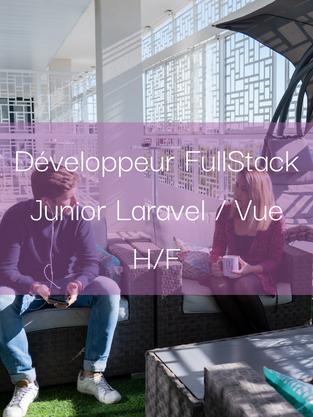 Développeur FullStack Junior Laravel-Vue H/F
