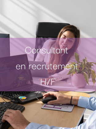 Consultant en recrutement H/F