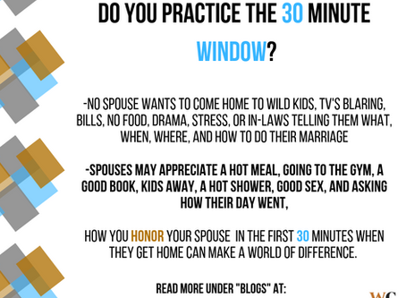 The 30 Minute Window
