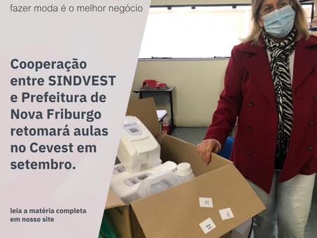 Cooperação entre Sindvest e Prefeitura retomará aulas no Cevest em setembro